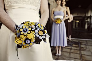 Button Wedding Bouquets