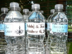 Personalized Wedding Bottle Labels