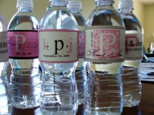 Pin itPersonalized wedding water bottle labels. Diy Wedding Water Bottle Labels. Home Design Ideas