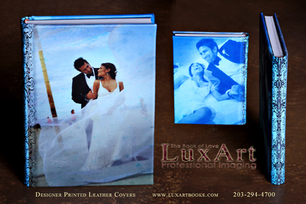 Photographic Printed Leather Covers