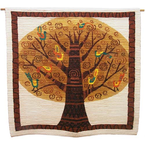 Tree of Life Tapestry at Ten Thousand Villages