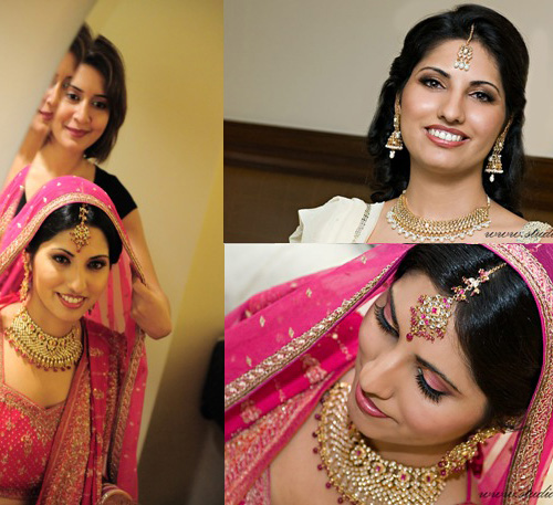 South Asian Brides: Tips for Wedding Makeup and Hair for an Indian Wedding.
