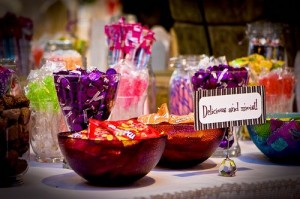 candy buffets at weddings