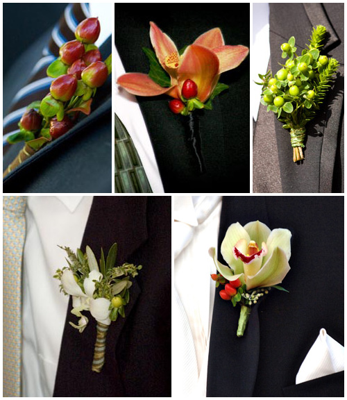 Ideas for unique wedding boutonnieres and corsages boutonniere ideas abound junglespirit Images