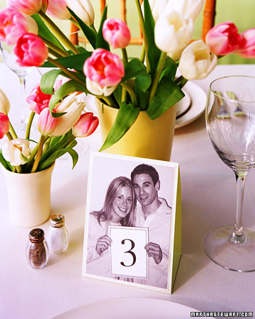 Unique Wedding Reception Table Number Ideas