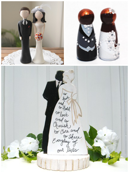 Custom and unique wedding cake toppers are back junglespirit Image collections