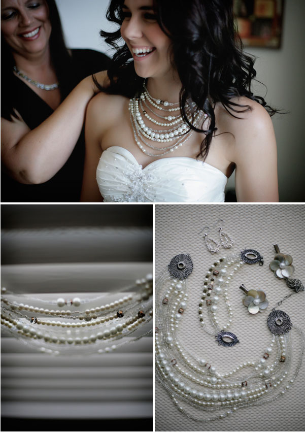 Pearl Necklace from StyleMePretty.com
