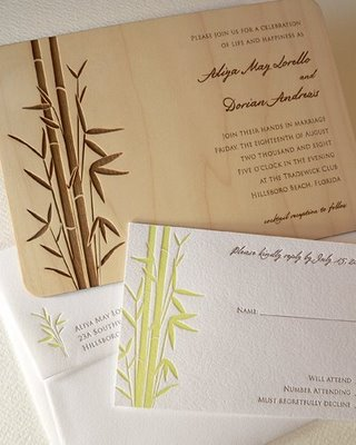 Bamboo Wedding Theme Wedloft by WeddingWindowcom