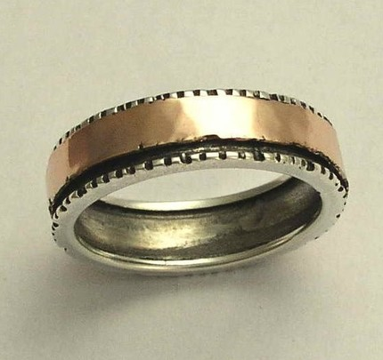 wedding rings with a unique twist - Non Traditional Wedding Rings