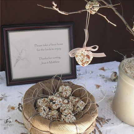 Ideas for Eco Friendly Wedding Favors