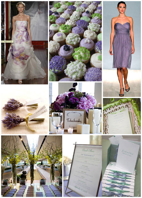 Wedding Colors Lilac And Sage