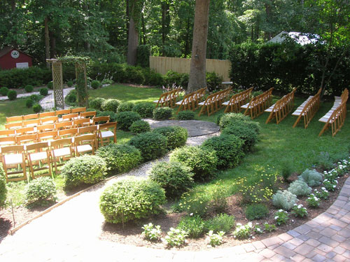 Backyard Wedding Decorations Diy : Beautiful, BudgetFriendly, Backyard Wedding