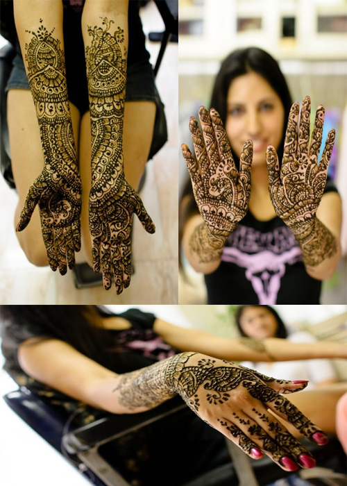 Photo Credit: Yun Gen Yang Photography, Mehendi Design: Usha Bhavsar