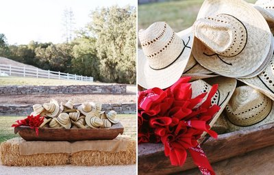 cowboy hat wedding