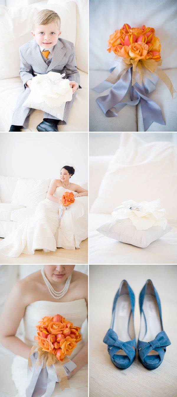 Orange and silver wedding color inspiration color combination orange silver white junglespirit