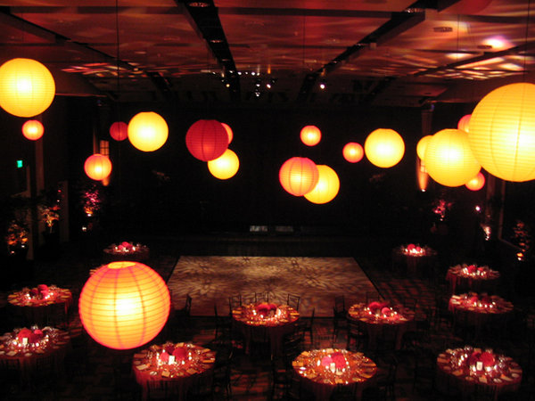 wedding lighting lanterns