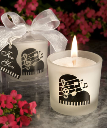 music theme wedding favors Photo Credit Hotrefcom