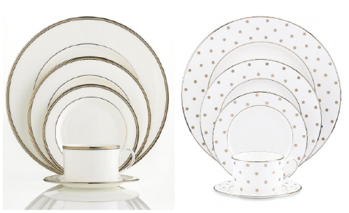 kate spade Dinnerware Collections (Sonora Knot Larabee Road)Pin it  sc 1 st  Wedding Window & Wedding Registry: China Dinnerware Set