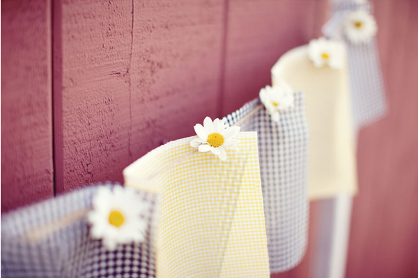 summer wedding decor
