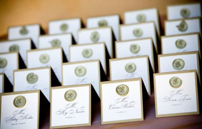 wax seals wedding