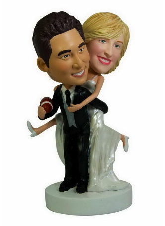 wedding bobble heads