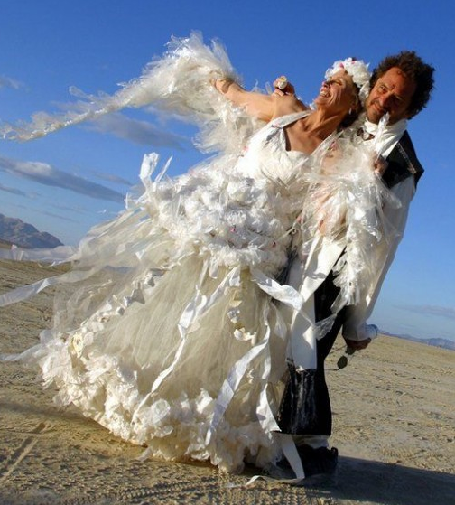 wacky wedding dresses