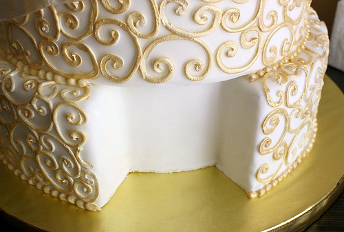 rent a wedding cake