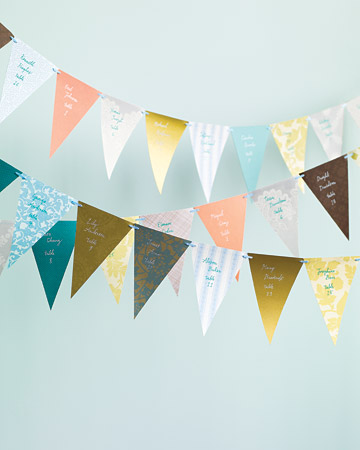 wedding flags