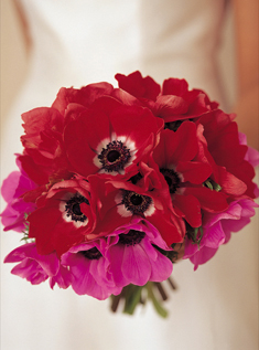 pink red bouquet
