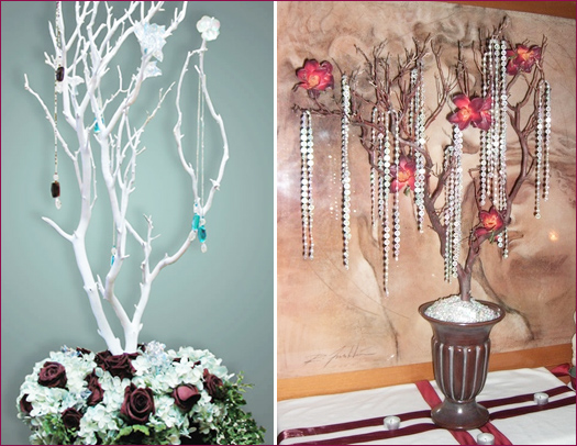 tree wedding decor