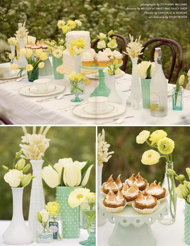 brunch wedding decor