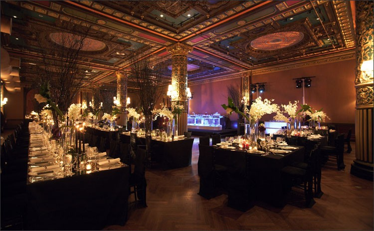 wedding reception lighting