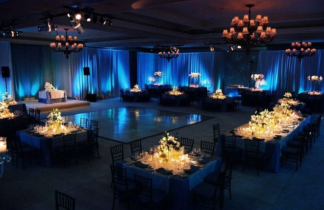 Wedding Decor Up Lighting
