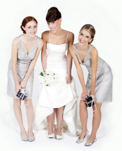 Evis Blog Trends For Wedding Dress Styles Are Seen With Scattered Chic Embellishments