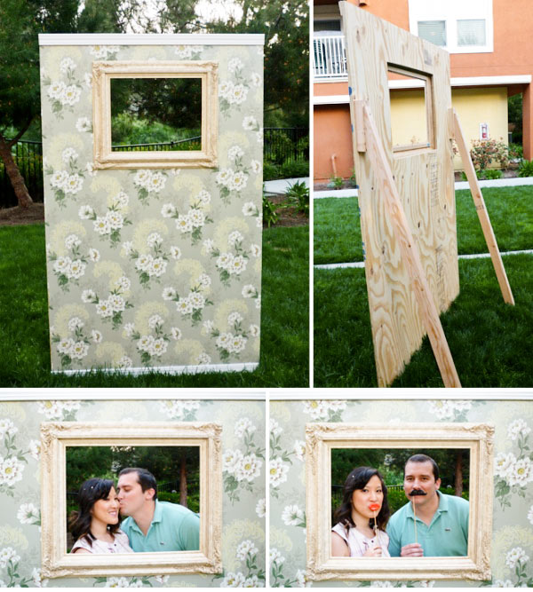 DIY Wedding Budget Friendly Photo Booth Ideas
