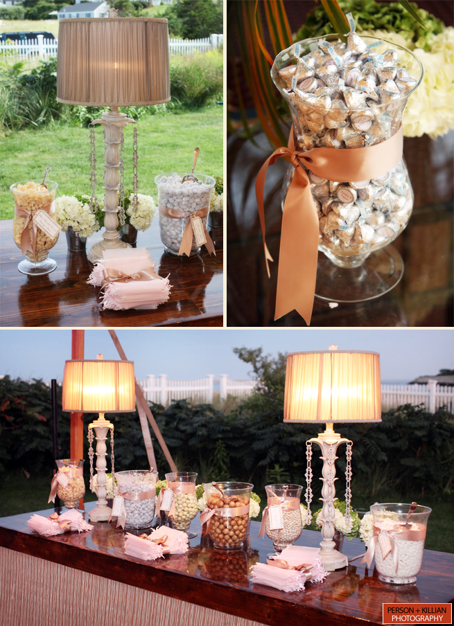 wedding desserts candy bar