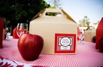 backyard wedding favors