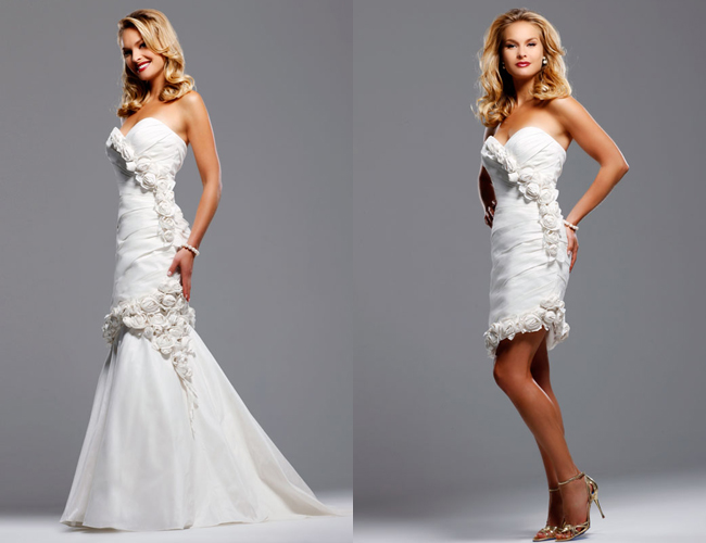 Wedding Blogs Convertible Wedding Dresses