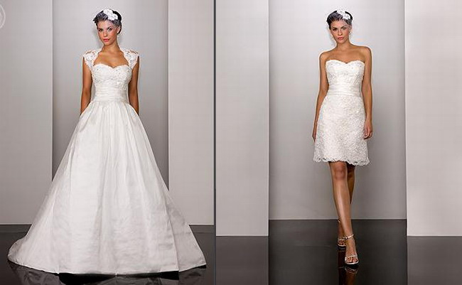 Wedding Blogs: Convertible Wedding Dresses