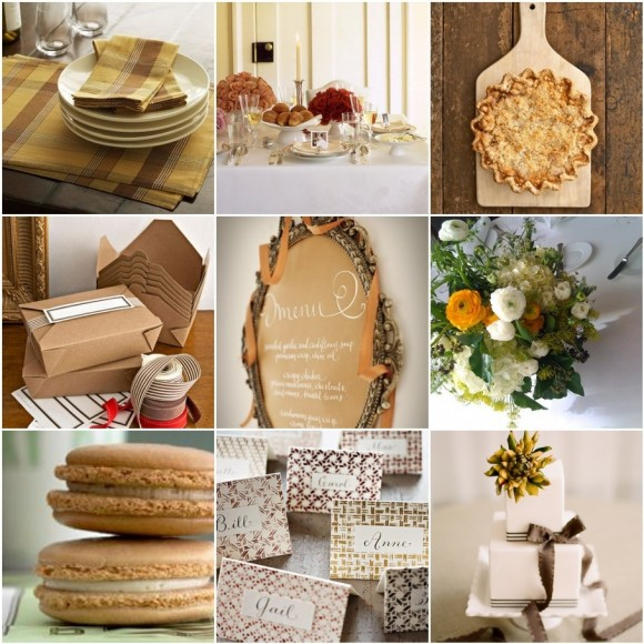 Wedding Ideas And Inspirations: Wedding Theme: Thanksgiving Inspiration