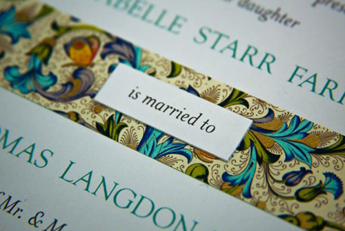 weddig invitations