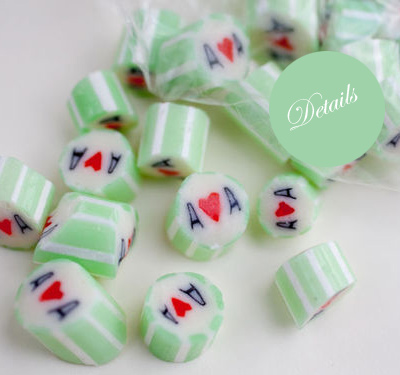 custom wedding candy