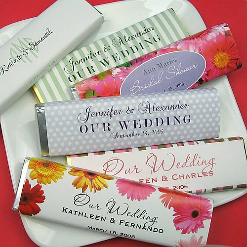 custom wedding candy wrappers