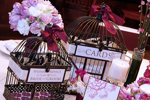 wedding birdcage