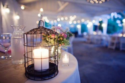 birdcage wedding decor