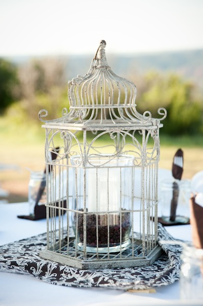Wedding Design Decor Birdcage Details