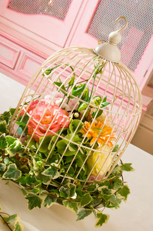 wedding birdcage centerpieces