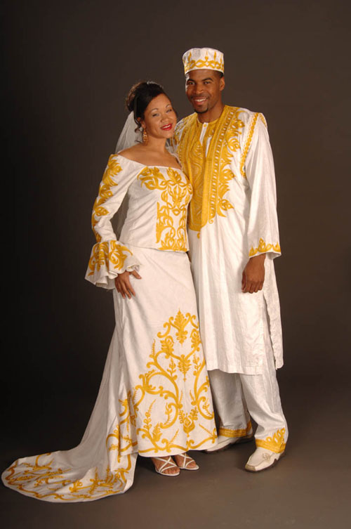 african wedding attire