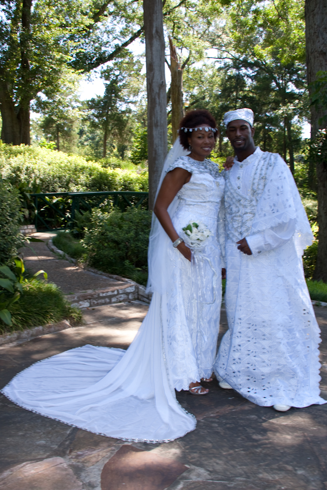 Beautiful Traditional Details on African Wedding Gowns
