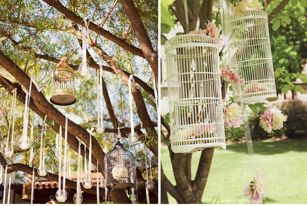 Wedding Design & Decor: Birdcage Details